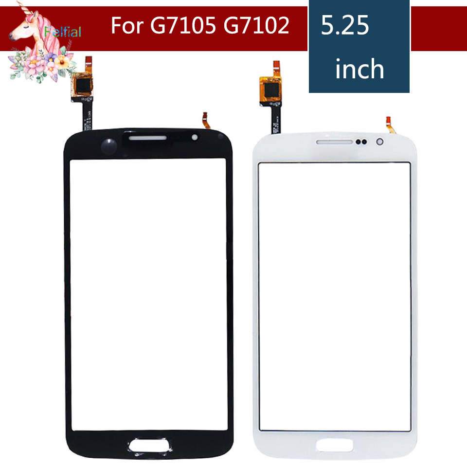 Для Samsung Galaxy Grand 2 G7105 G7102 G7106 G7108 сенсорный экран сенсорный дисплей дигитайзер замена стекла