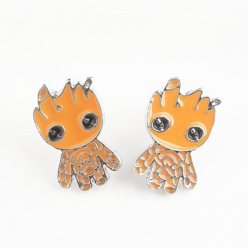 Guardians Of The Galaxy Earrings Infinity War Groot For Women Jewelry Gift