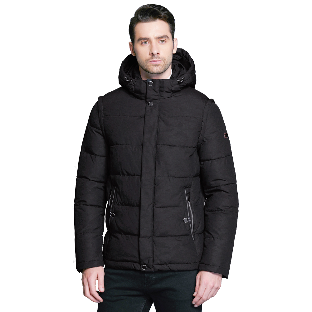 ICEbear 2019 Casual Overcoat Winter Coat Men Double Placket Double Windproof Style Concise High Quality Parka 17MD923D все цены