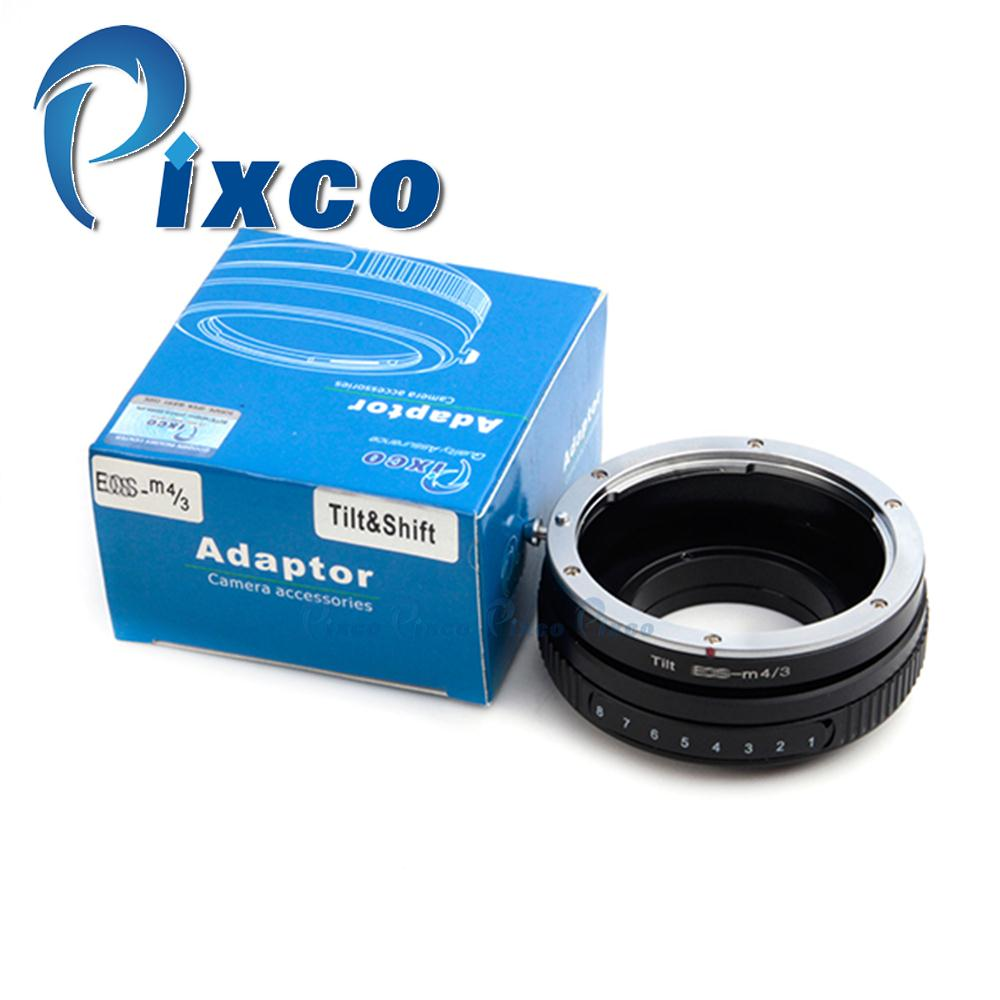 Tilt Lens Adapter Suit For Canon EF Lens to Suit for Micro Four Thirds 4/3 Camera
