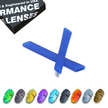 ToughAsNails Polarized Replacement Lenses & Blue Ear Socks for Oakley Jawbone Vented Sunglasses - Multiple Options