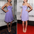 Simple Purple Cocktail Dress A-Line Sweetheart Tulle Cheap Prom Dress Spaghetti Strap Sleeveless Ruched Knee-Length Formal Wear