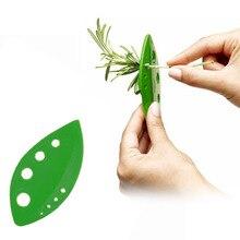 Абрикосовый 1 шт. овощи сельдерей петрушка с капустным листом Стриптизерша пластик looseleaf лист травы зачистки Кухонные гаджеты