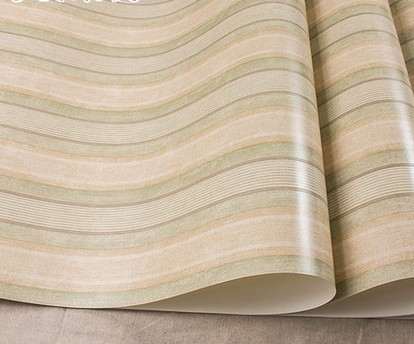 ФОТО Rural household decorates restoring ancient ways of pure paper wallpaper Bedroom living room study American stripe wallpaper