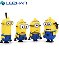 The USB flash drive Cute USB Minions Phil & Jerry & Tim & Mark 4G 8G 16G 32G 64G Usb Flash Pen Drive memory stick disk pendrive