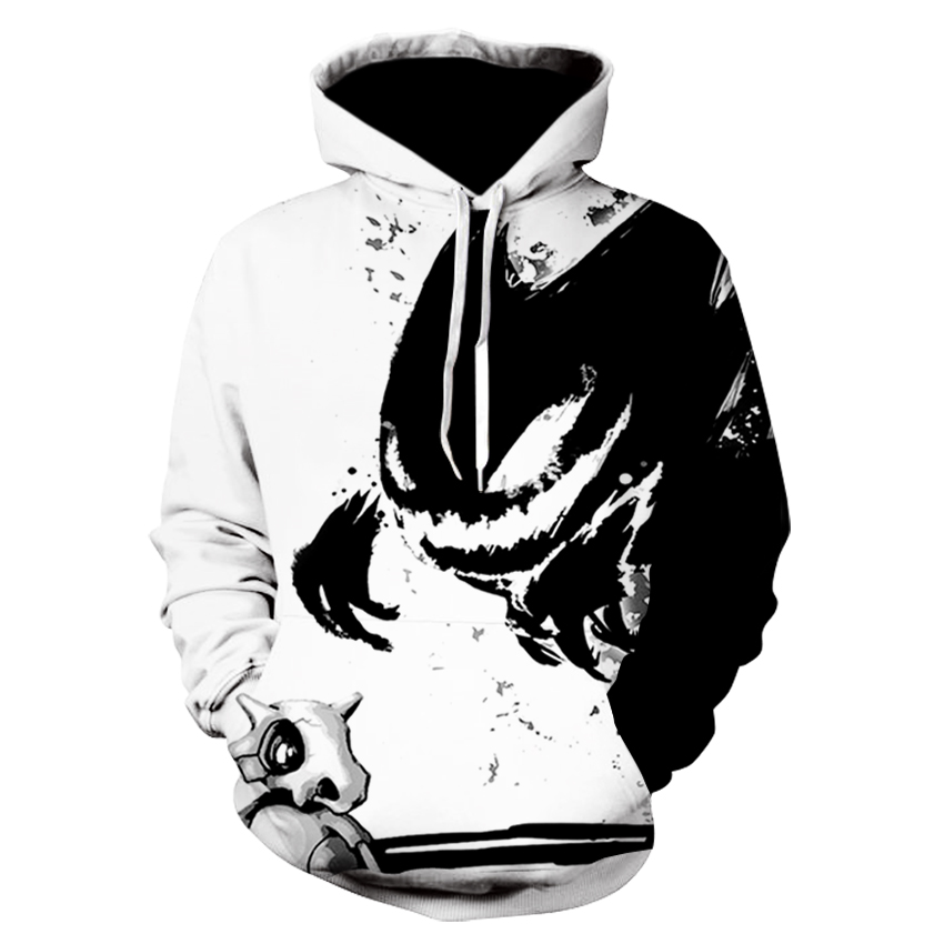 Hot hoody Blue 3d Skull Hoodies Men Women Fashion Winter Spring Sportswear Hip Hop Tracksuit Brand Hooded Sweatshirt Dropship