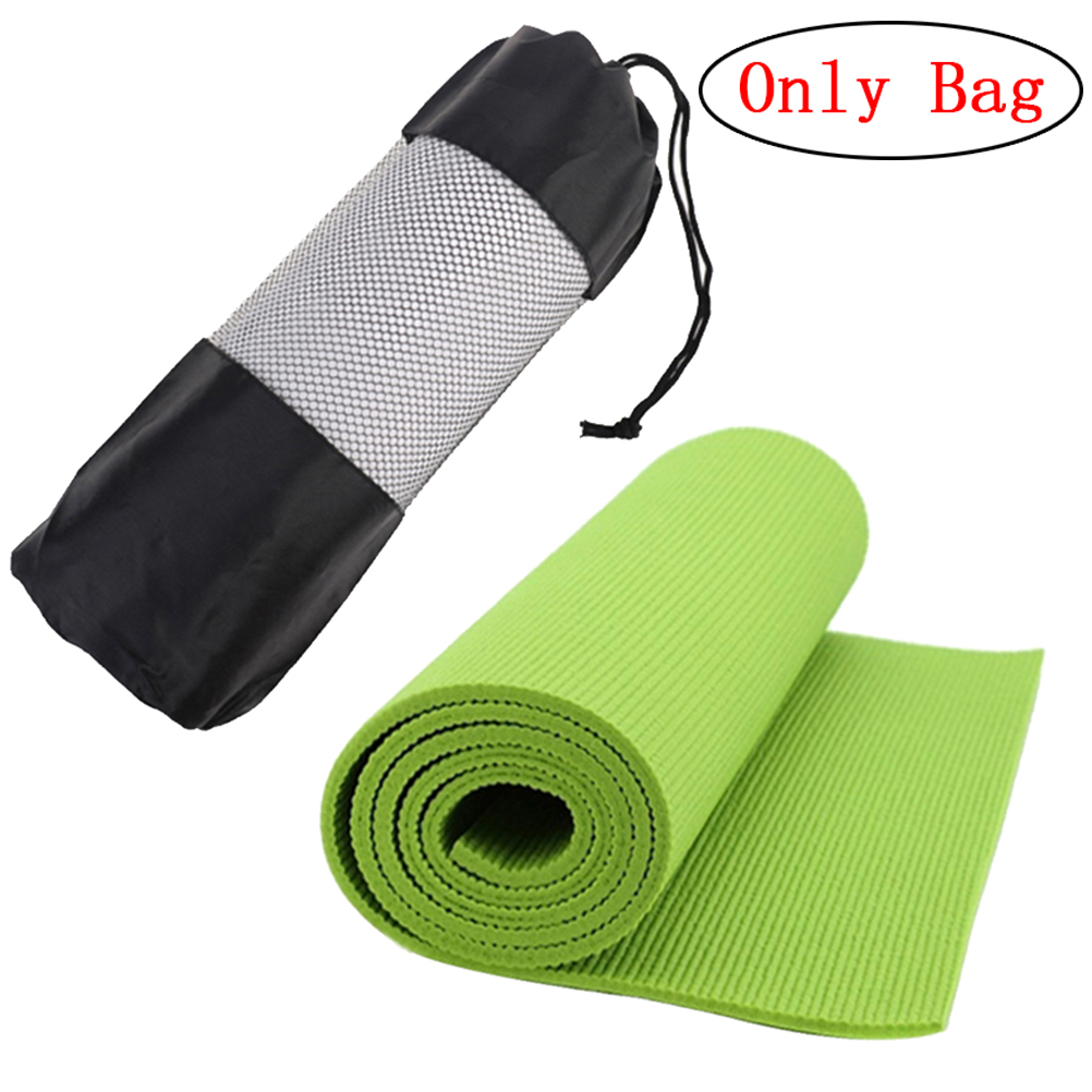 Impartial Sport Exercise Yoga Bag Canvas Practical Yoga Pilates Mat Carry Strap Drawstring Bag Gym Bag Fitness Backpack 35*10.5cm Ropa, Calzado Y Complementos