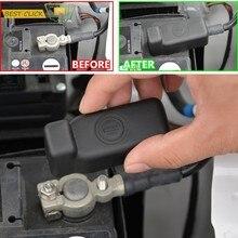 Cubierta protectora de electrodos negativos para batería de coche SEAT Toledo NH Ibiza 6J Mk4 2008-2017