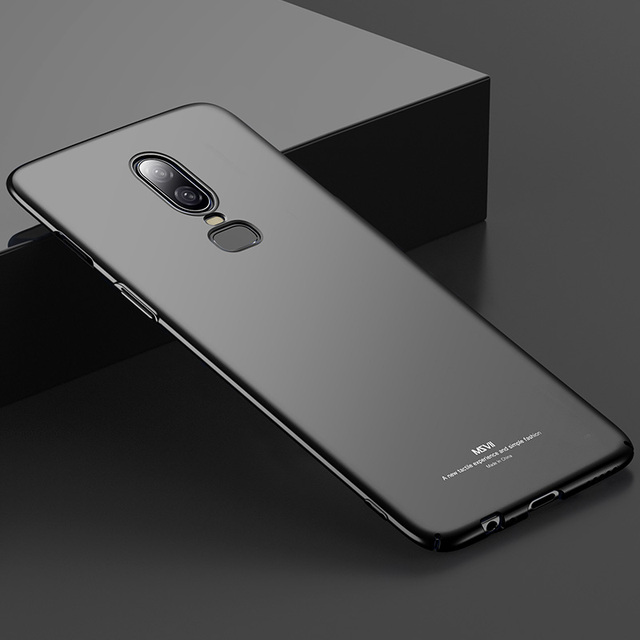 Msvii Luxury Case For Oneplus 6T Ultra Slim Hard Cases For One Plus 6T 5T Full Protection Back Cover For Oneplus 6 Coque Capa