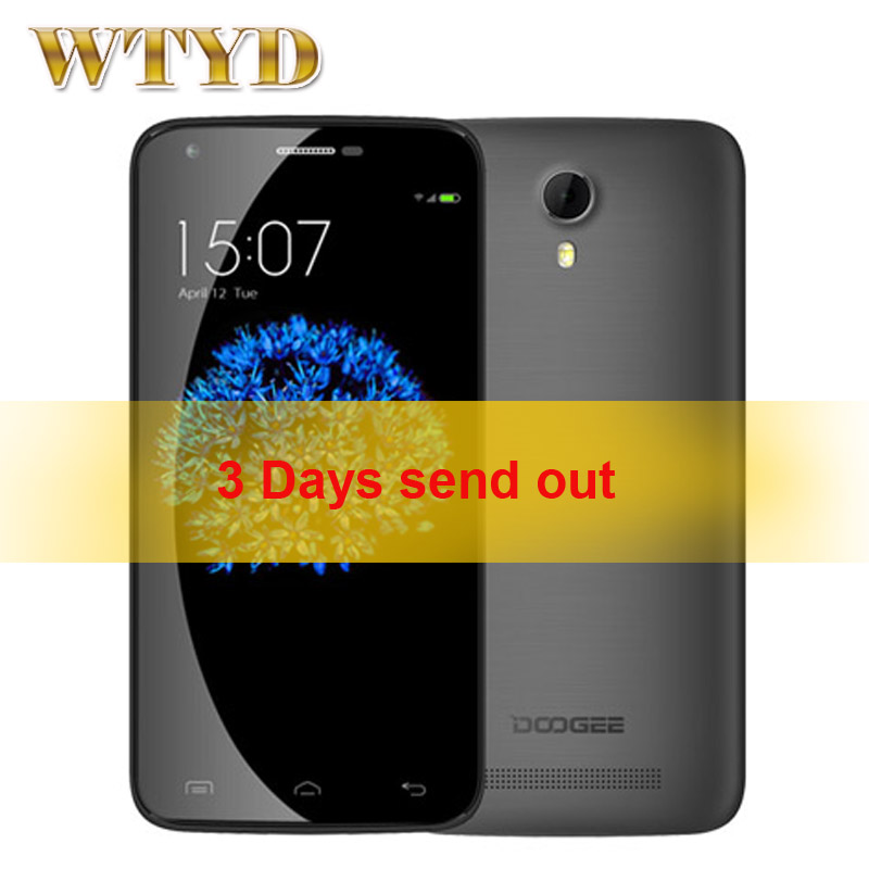 Original DOOGEE Valencia 2 Y100 PRO 5 0 Android 5 0 font b Smartphone b font