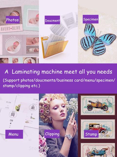 Hot and Cold Laminator Machine