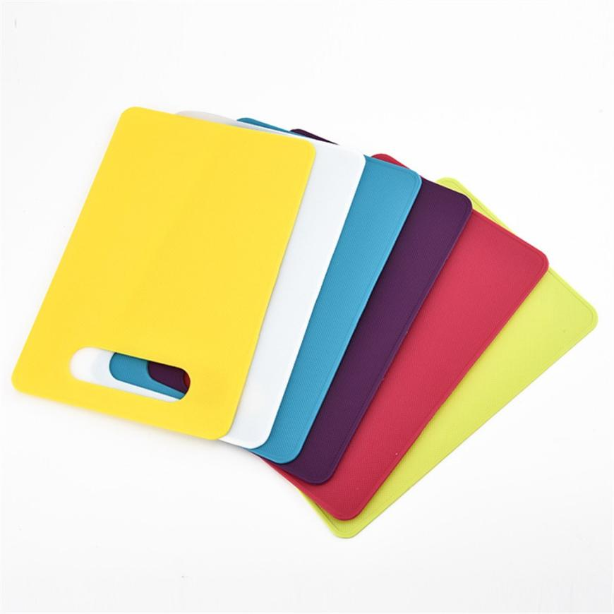 Flexible Chopping boards for kitchen cutting board Fruit Vegetable plastic cutting boards tabla para picar Mats Ultra-thinle