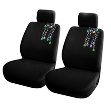 Universal Embroidery Car Seat Covers Interior Accessories Airbag Compatible Cover Protector