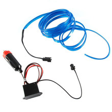 Decor Luminous DC 12V 6.6ft Contactor Blue Flexible Light Pack Lot Pro New Part Accs Useful Practical Portable(China)