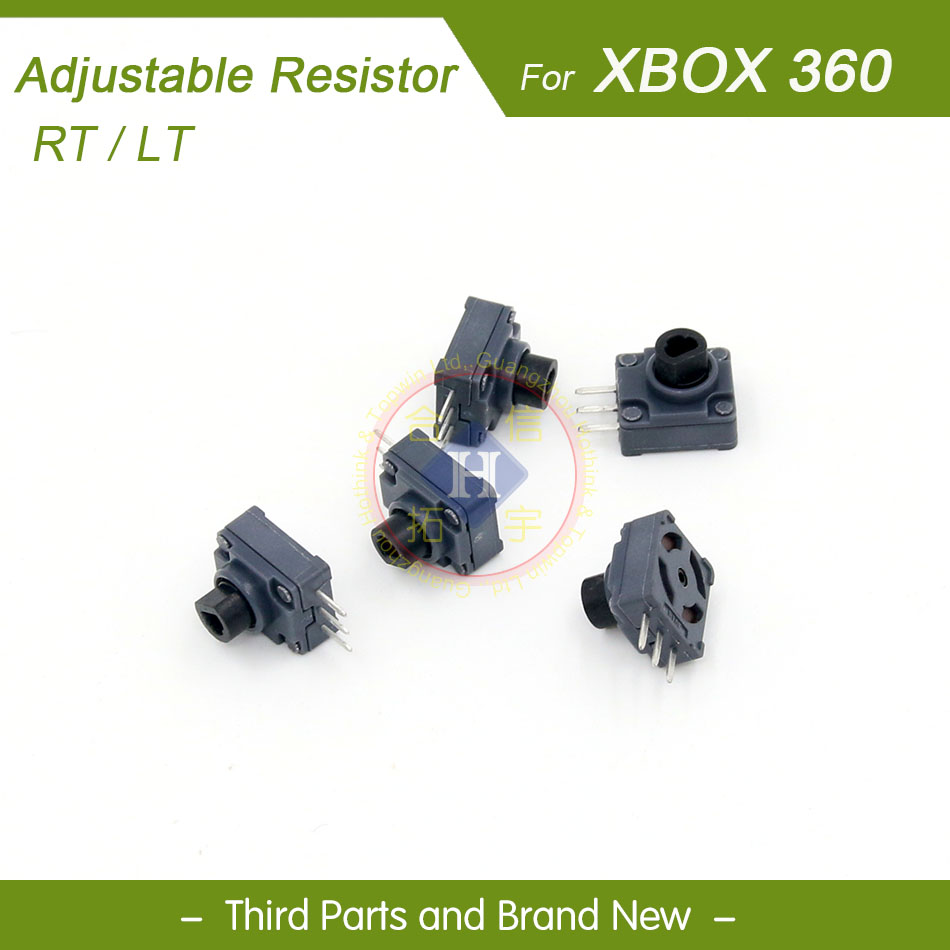 HOTHINK 5pcs/lot Replacement Repair Parts ALPS LT/RT Button Trigger Switch For Xbox 360 Wired / Wireless Controller