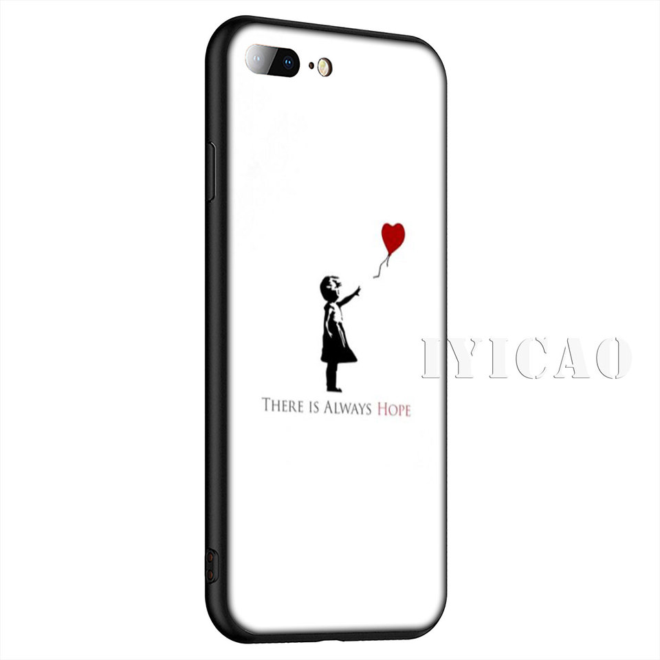 Banksy Hope iPhone 11 case