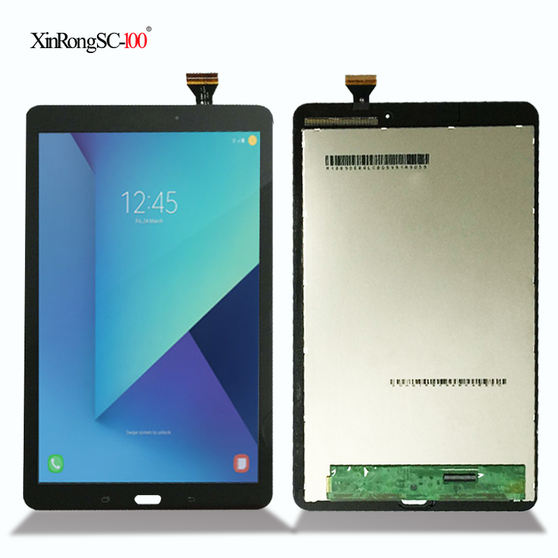 New For Samsung Galaxy Tab E 9.6 SM-T560 T560 SM-T561 LCD Display Touch Screen Digitizer Matrix Panel Tablet Assembly Parts srjtek 9 6 for samsung galaxy tab e 9 6 sm t560 t560 t561 lcd display touch screen digitizer matrix tablet pc assembly parts