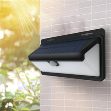 Three-Sided LED 100LED Solar Sensor ampoule Light  wall street Lamp country house Industrial rod energy saving without pollution