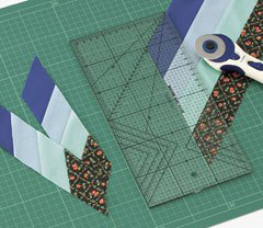 Sewing Colver 57-617 Diy Patchwork Ruler Handmade Cloth Tools Tailor-foot Put Yardstick Cutting Quilting Rulers 30cm
