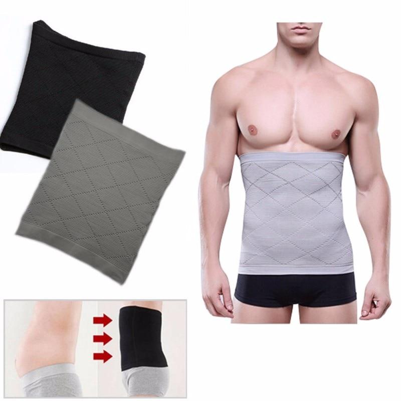 Men's Waist Belly Slimming Body Shaper Girdle Belt Cincher Underbust Corset 2
