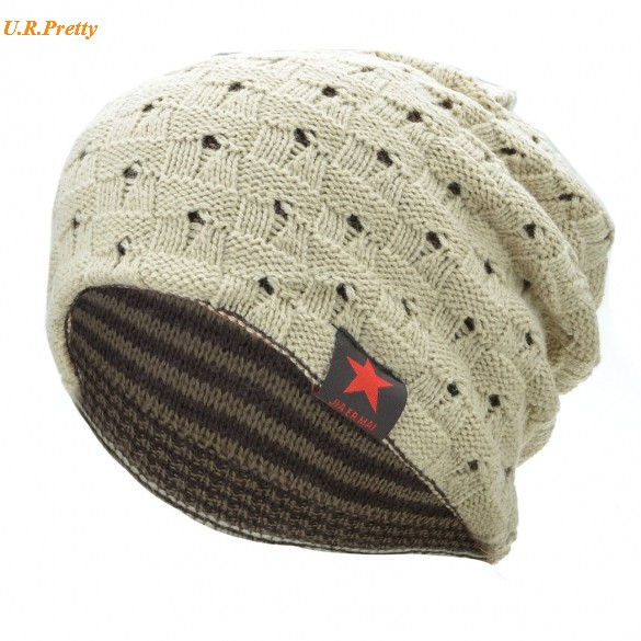 Casual Hats & Caps Winter Hats For Men Women Unisex Solid Color Knitting Beanie Autumn Winter Warm Stylish Cap 24 yjsfg house fashion beanie knitted hat unisex women ans men winter warm cap crochet knitting hats casual girls solid caps