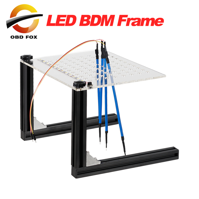 LED BDM Frame With 4 Probe Pens ECU Chip Tuning Tool For Ktag K Tag ...