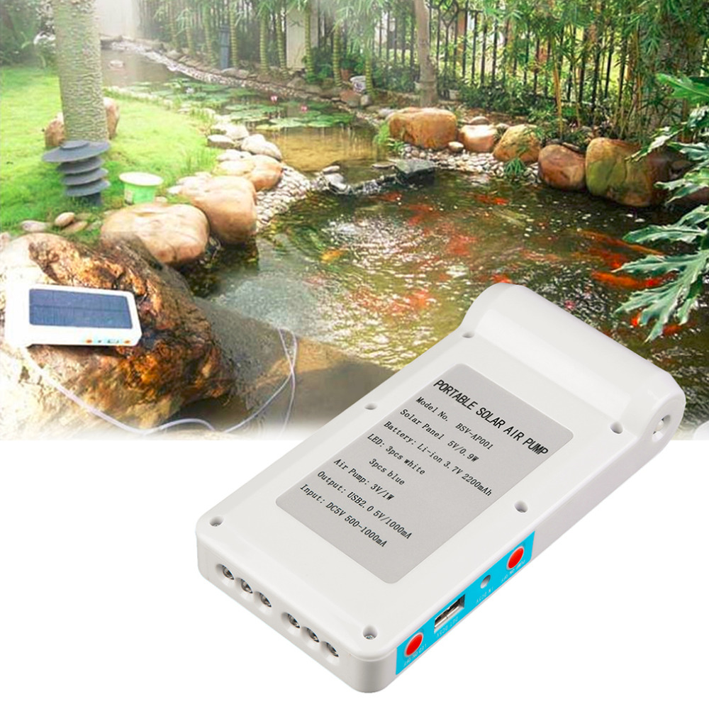 Online buy wholesale solar air pump from china solar air for Fish pond tanks for sale