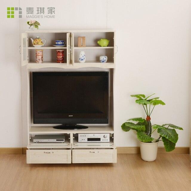 wilde eiken tv kast om de zee in de slaapkamer meubels kleine appartement moderne minimalistische houten