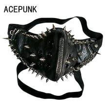 free shipping (min order 10USD) new design fashion cool skull leather punk bracelet