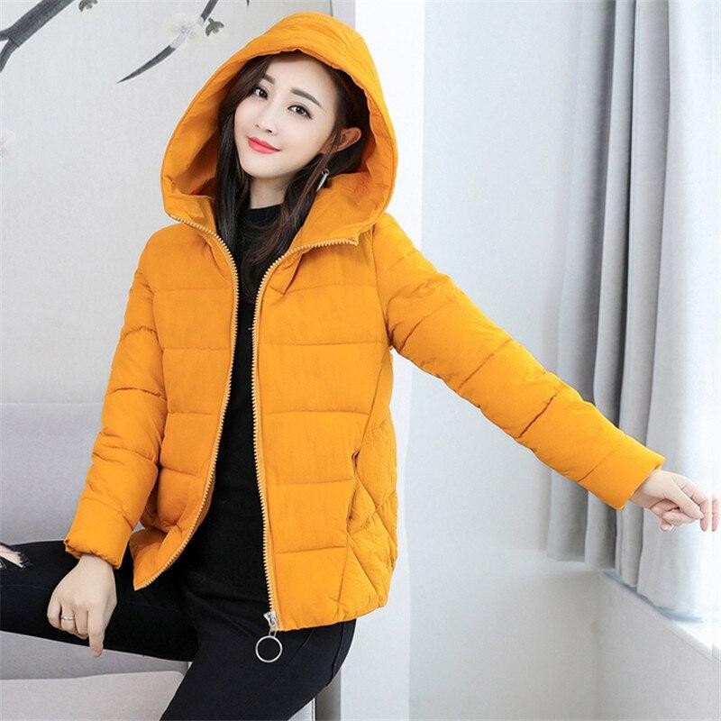 f370333ada81d Hiver Coton Parkas Manteaux 2018 Femmes Mode 6xl Survêtement Dames red  Taille Plus Court yellow Casual ...