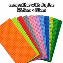 521 Big Size Bricks Base Plate 16*32 Dots 51*25.5cm Baseplate Building Blocks  Compatible Brand Duploe Toys For Children