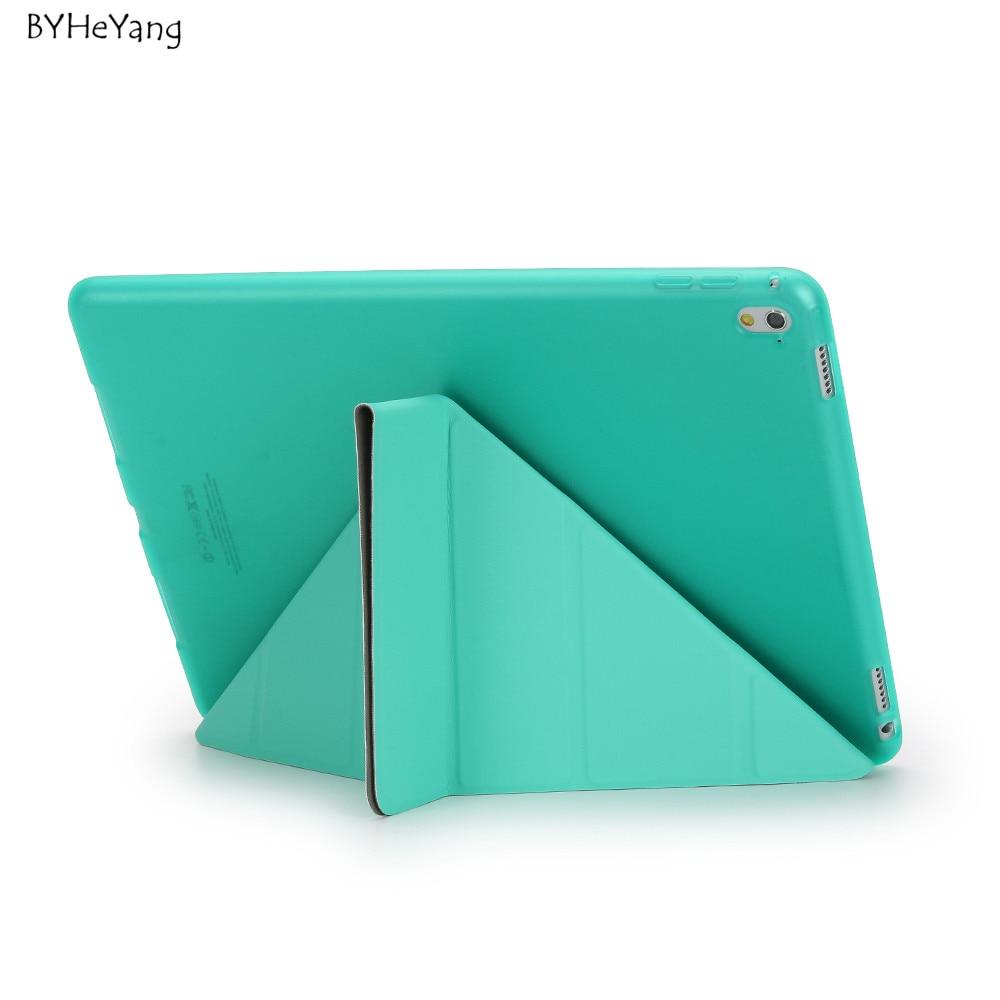 BYHeYang Durumda Yeni iPad Pro 10.5 için 2017 PU Akıllı Kapak - Tablet Aksesuarları - Fotoğraf 3