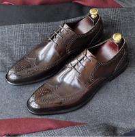 Ручной работы мужские монки обувь вечерние Свадебный танец бренд Повседневное Пояса из натуральной кожи Мужская модельная обувь 2018 Кружев