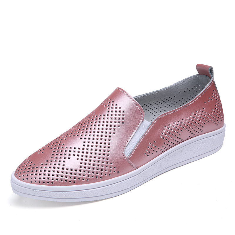 2017 spring summer breathable mesh women white casual shoes flats slip-on loafers pink pu leather walking shoes footwear T032825 2017 autumn fashion men pu shoes slip on black shoes casual loafers mens moccasins soft shoes male walking flats pu footwear