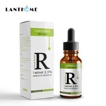 Retinol увлажняющее средство для лица 2.5% крем витамин е коллагеновая Жидкость против морщин акне Гиалуроновая кислота лица Сыворотка отбеливающая