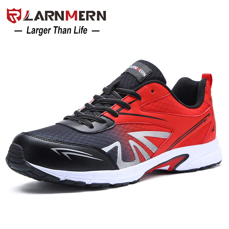 LARNMERN Men Safety Shoes Lightweight Breathable Soft Fashion Special Work Casual Boots Outdoor Steel Toe Military Boat Shoes 2018 fashion safety shoes men breathable casual work shoes with steel safety toe lightweight wear resisting men safety boots