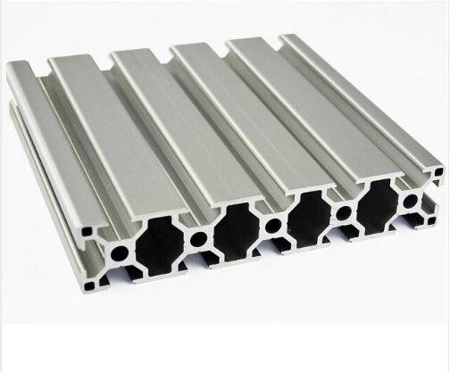 30150 profilé d'extrusion d'aluminium norme européenne longueur blanche 1500mm établi industriel 1 pièces