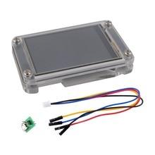 """3,5 дюймов Nextion дисплей Улучшенный 3,"""" USART HMI сенсорный дисплей ЖК-экран панель для Arduino Raspberry Pi+ акриловый чехол NX4832K035"""