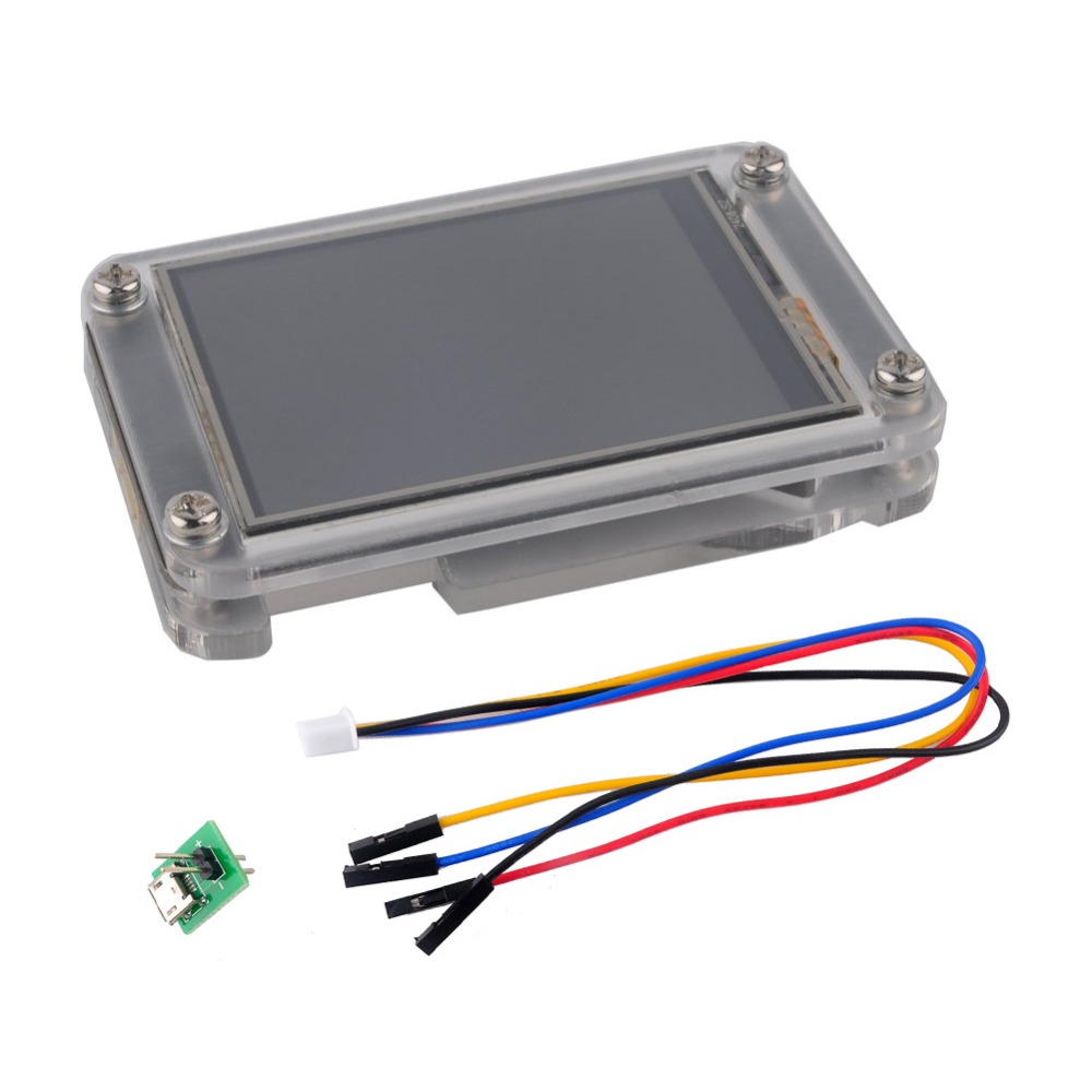 3.5 inch Nextion Display Enhanced 3.5 USART HMI Touch Display LCD Screen Panel for Arduino Raspberry Pi+Acrylic Case NX4832K0353.5 inch Nextion Display Enhanced 3.5 USART HMI Touch Display LCD Screen Panel for Arduino Raspberry Pi+Acrylic Case NX4832K035