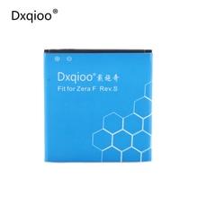 Dxqioo zera f rev. s batería fit para highscreen zera f rev. s 1600 mah baterías