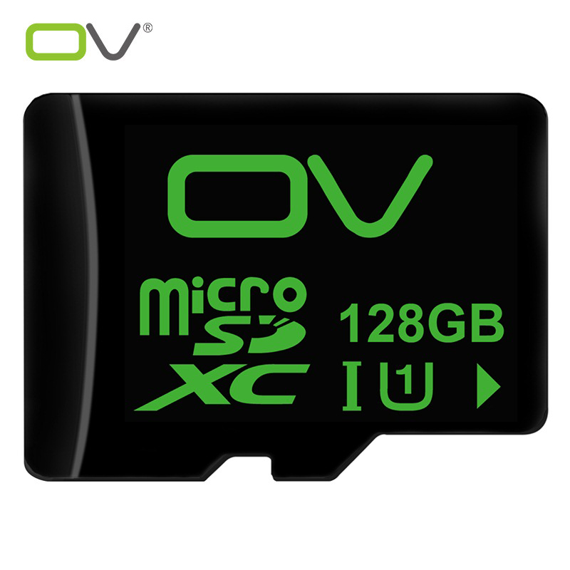 OV 100% Genuine 128GB Micro SD TF Card Class 10 With Original Package memory card mobile phone camera by AliExpress Shipping