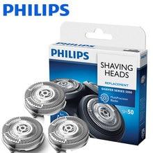 Philips lâmina de barbear, lâmina de barbear sh50 acessórios de malha s5000 s5570, s5560, s5380, s5078