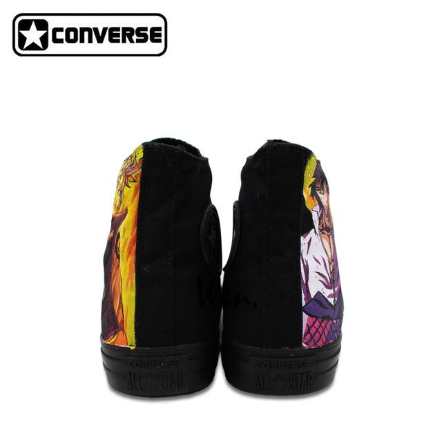 Naurto and Sasuke Custom Design Shoes  Converse All Star