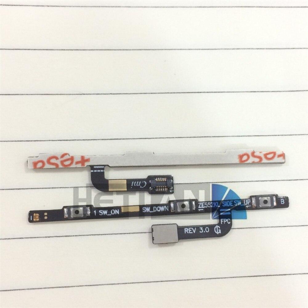 Power Switch On Off Flex For Asus Zenfone 3 ZE552KL ZE520KL Side Volume Button Key Flex Cable