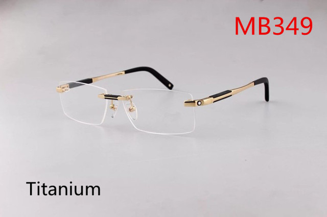High Quality Titanium Metal No Border So Smooth Wind Brand Frames