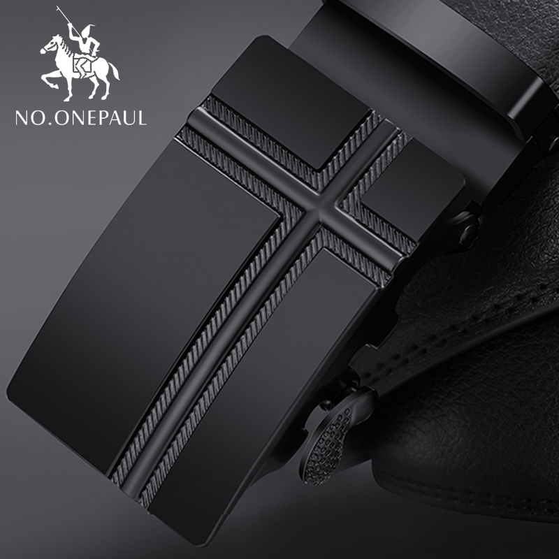NO.ONEPAUL New Men's Genuine Leather Belt High Quality Designer Belts Luxury Strap Male Waistband Vintage Buckle Belt For Jeans