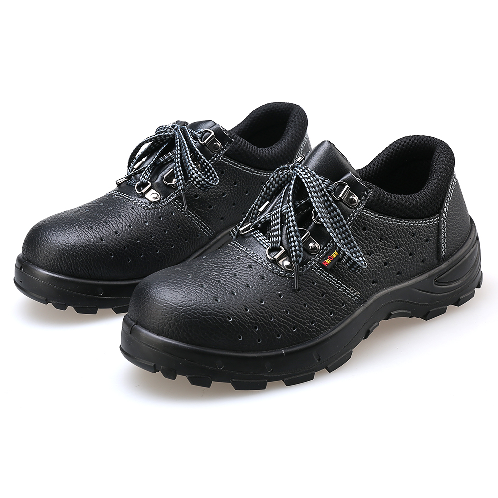 AC11011 Working Safety Shoes For Men/Women Boots Men Military Special Steel Toe Women's Shoes Black Flat 2019 Spring Female