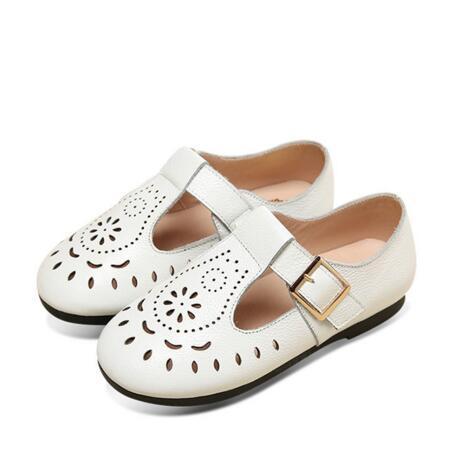 Chegada nova primavera/outono crianças shoes meninas sapatos de couro genuíno únicos shoes princesa crianças sapatilhas ocasionais apartamentos bebê 03