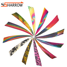 60/100pcs 4inch Fletches Arrow Feathers Natural Turkey Feather Right Wing Vanes For Bow Hunting Shooting Archery Accessories