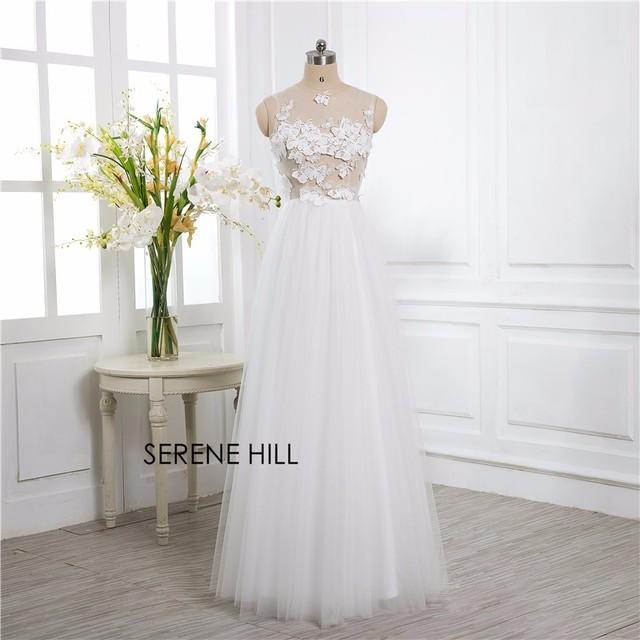 Echt Bild Luxus 3D Schmetterling Hochzeit Kleid Braut Kleid Robe De ...